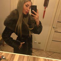 Mink-sable fur coat