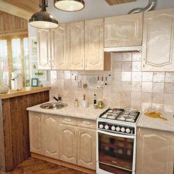 Κουζίνα LINA 210 cm μητέρα μαργαριταριού MDF