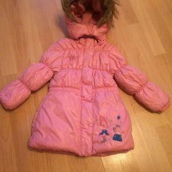 Demi-season coat for the girl