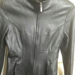 Women's genuine leather jacket