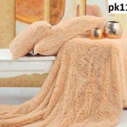 Fluffy Peach Pillowcase