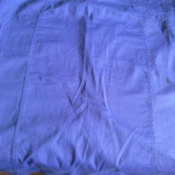 Two women's skirts, purple, white, price for both!