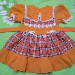 Φόρεμα κομψό νέο 1-4goda