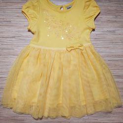 Платье нарядное на возраст 9-12 мес.