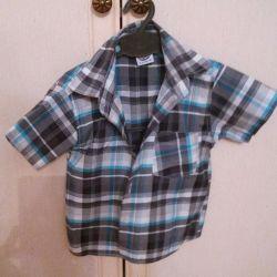 Men's shirts for children 2-4 years