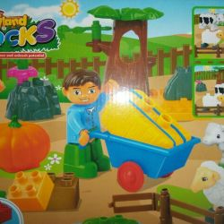 The designer Farm - analog of Lego Duplo