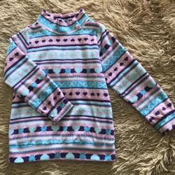 Turtleneck for a girl 5-6 years