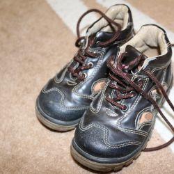 Doğal deri çizme