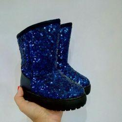 New children's winter boots