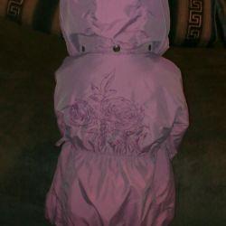 Jacket for 2-3g spring-autumn, cap