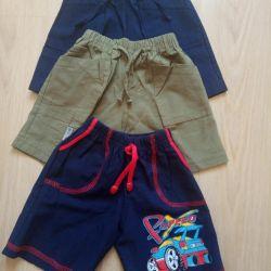 Shorts 3 pcs. For 150 p.