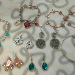 Jewelry jewelry earrings bracelet