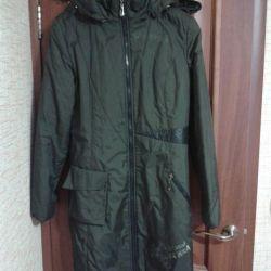 Light overcoat, size 46