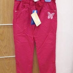 Pantaloni noi pentru fete