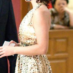 Βραδινό φόρεμα λεοπάρδαλης (Τουρκία)