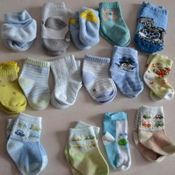 Socks for a newborn 15 pieces