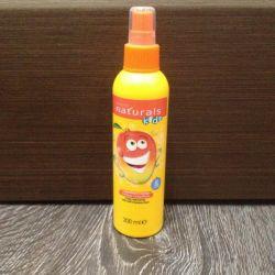 Spray de păr pentru bebeluș