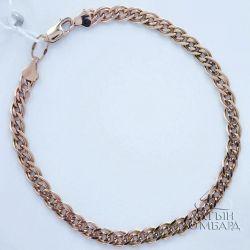 Gold bracelet 585 samples. Art.A0296. Rr 19,5sm.