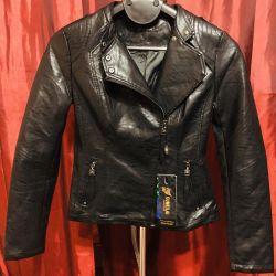 Kadın eko deri ceket
