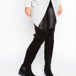 Suede boots of ASOS new