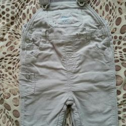 Corduroy pants for the boy