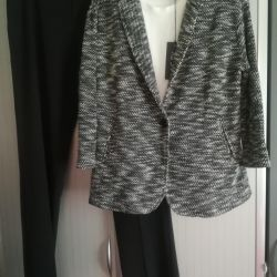 Νέο κοστούμι - παντελόνι και σακάκι