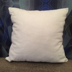 The basis for a decorative pillow