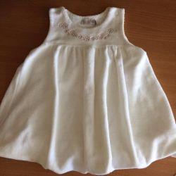Dress the teplenky size 80
