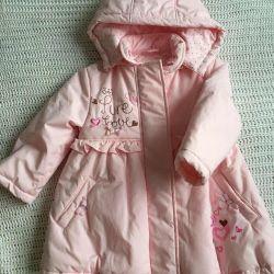 Absolutely New coat for girl r. 98