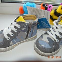 Yeni ayakkabılar BabyGo hakiki deri