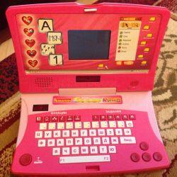Developing laptop