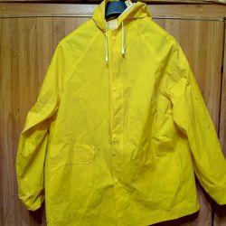 Jacket and pants yellow