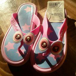 Summer slippers