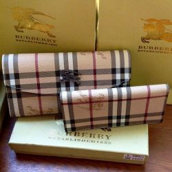 Leather Burberry Wallets