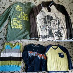 Clothes for boys for 5-6 years