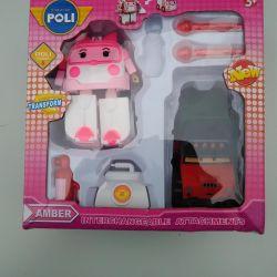 Transforming machine Robokar Amber Robokar Pocher