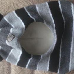 Шапка шлем -зима.