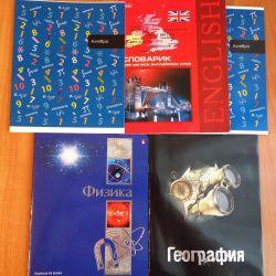 NEW school notebooks 5pcs