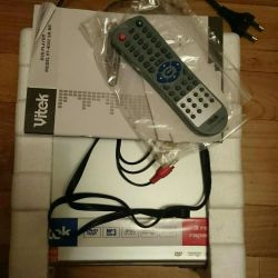 DVD player new.vitek