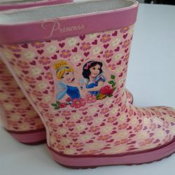 Waterproof boots for the girl of Disney