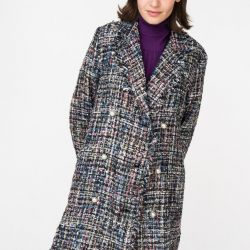 Пальто с бахрамой Insity. Новое!