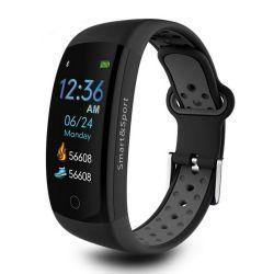 🔥 Akıllı Saat Bilezik Q6S Gri IP68 3D Yeni