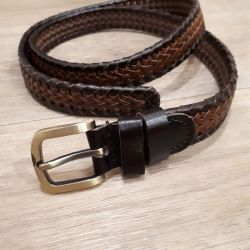 Leather belt 110cm new