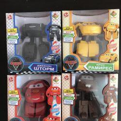New heroes of the cartoon Cars