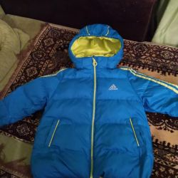 Down jacket Adidas height 104