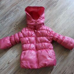 Куртка деми на флисе