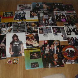 Posters Guns N Roses, Kiss, Poison, Bon Jovi, etc.
