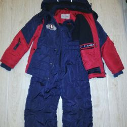 Winter suit for a boy