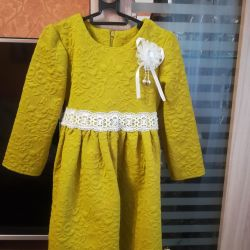 Rochie elegantă pentru soluția pentru fetița 92