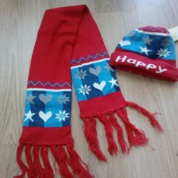 Set hat + scarf
